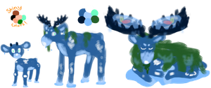Water starter fakemon by ploofy-floop