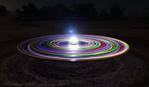 Rainbow UFO by N-ScapePhotography