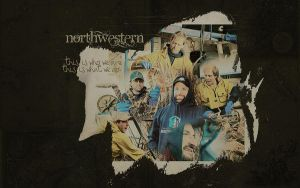 Northwestern Wallpaper by Liadan1985