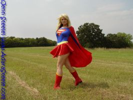 supergirl walking by ilikesuperwomens