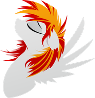 Heartfire - FacePony by Rariedash