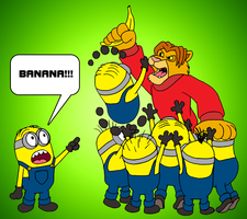 Johnny vs. The Minions by BennytheBeast