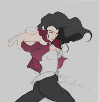 Asami is a badass 2- progression by pixlbender
