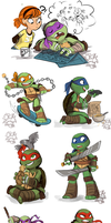 TMNT Stuff 2 by sharkie19