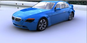 Wip, Test render of bmw z9 by artsoni