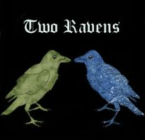Two Ravens Cover by Earthsoul22