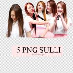 Pack 2 PNG Sulli by dungyonggun