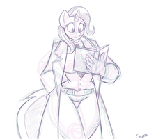 Commission - Trixie As John Constantine by Superi90
