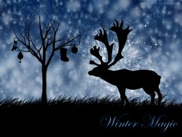 Winter Magic Wallpaper by Waiting-Wish