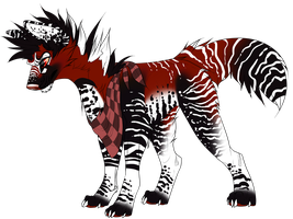 Punk Dog #2 - Auction - CLOSED by SwarThylacine-Adopts