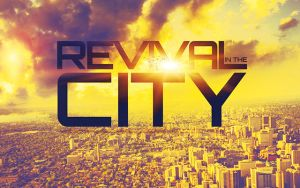 Revival in the City CD Artwork Template by loswl
