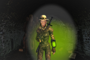 Buffy the Fallout Explorer by UndeadNed