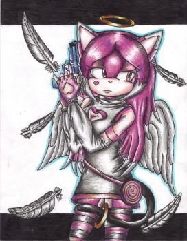 Angel the Cat: The Pink Bullet by IceAngel12