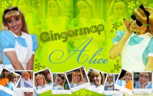 Gingersnap Alice by margflower