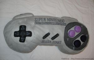 SNES Pillow 1 by Viasacra