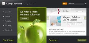Business website template by DuckFiles