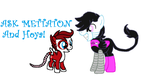 Ask Mettaton And Hoya Anything by webkinzfun8