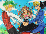 APH: They danced and lived with each other by Aonabi