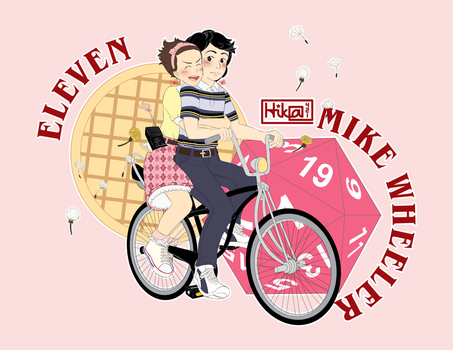Eleven and Mike by Hika421