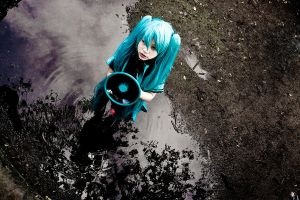 VOCALOID. monochrome noise by strawdoll