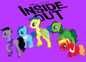 Inside Out Ponies by Anjalea