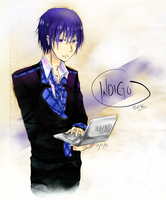 Indigo {Rainbow Boys from Hobby Club} by KuroKiseki-245