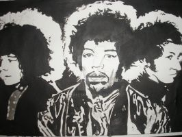 Jimi Hendrix Experience by Coffee58