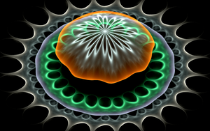 3D rounding with flower by Andrea1981G