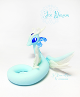 Ice dragon 2 by rosepeonie