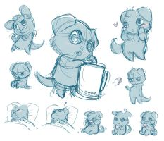 Espurr Studies 1 by paigehwarren