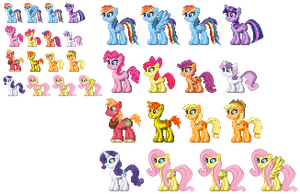 Pony Collection Upgraded by akumath