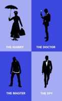 DW: Time Lords and Ladies by blackbirdrose