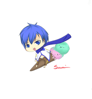 Up up and awaaaaayy - Kaito by Suyy
