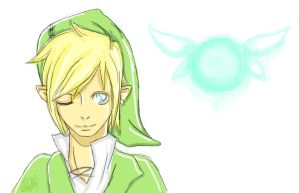 Link and Navi by Z-Panic