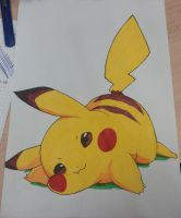 Markers | Pikachu by Indiana8Jones