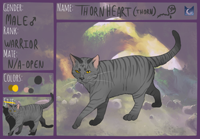 Thornheart of Moonclan by TheOwlArtist