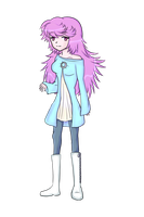 New OC for my b*tch! Transparent by Shivery-Ao