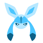 Glaceon by HannahrArt