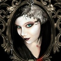 Her Blood in the Frame by vampirekingdom