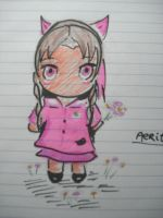 chibi aerith by twinkelsparky1