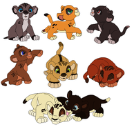 Lion King Adopts 1 by SewerKing