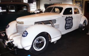 1937 Cord Police Car by MissModelT