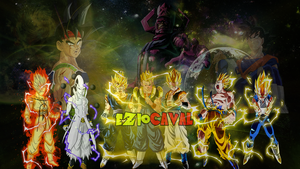 Dragonball Universe 18 - The Ultimate Enemie by eziocaval
