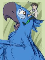 Tumblr Request #3 - Nod Riding Blu by candlehat