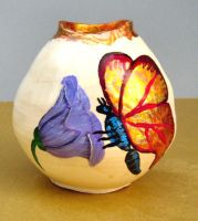 butterfly vase by cl2007