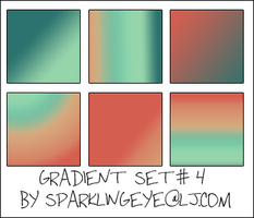 Gradient Set 4 by sparkling-eye