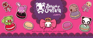 Dark Kawaii Facebook Cover by mAi2x-chan