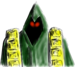 2014 /2 / 1 Green Robed Mage by PCRaven
