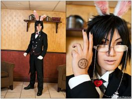 Kuroshitsuji: The White Rabbit by CosplayerWithCamera