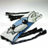 1.5 inch Dratini Friendship Bracelet by CarrieBea